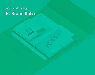 editorial design - B. Braun Italia