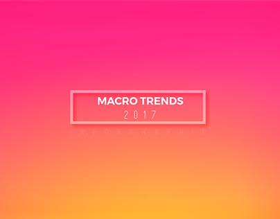 Macro Trends 2017 (Infographic)