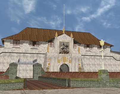 3D reconstruct of historic city Intramuros,Activeworlds