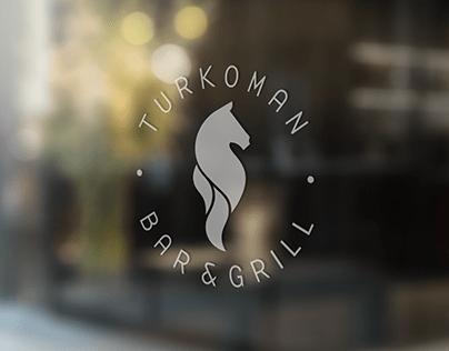 TURKOMAN BAR & GRILL / Brand identity