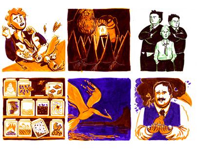 Potter Week Prompt List