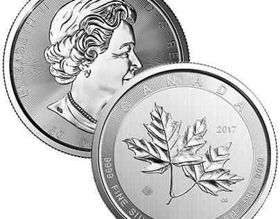 Canadian Maple Leaf, 10 Troy Ozs