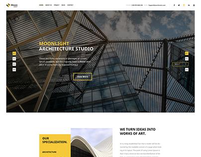 Moonlight - Architecture WordPress Theme