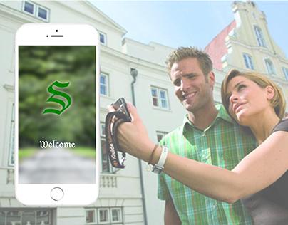 """""""GO SAV """"travel guide mobile app"""