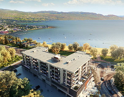 Another shot of The Shore Kelowna