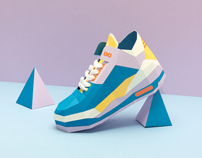 DOTMOT Paper Shoes