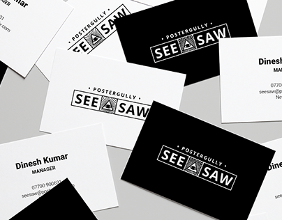Branding - See Saw Art Exhibit