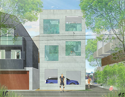Study 02 house H by Sou Fujimoto