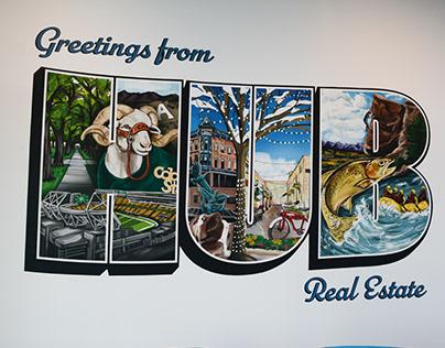 Hub Real Estate Mural