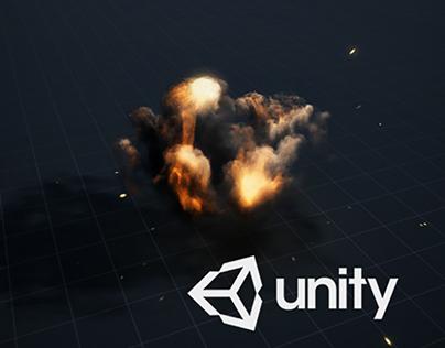 Unity3D Explosion test
