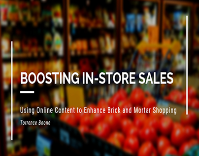 Boosting In-Store Sales with Online Content