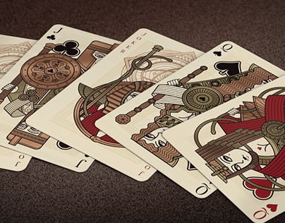 Omnia: The Golden Age Playing Cards