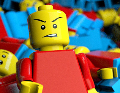 Lego Man | 3D Scene