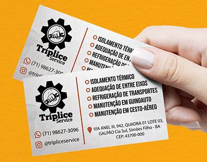 Cartão de Visitas - Tríplice Service