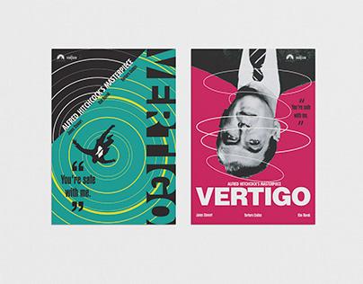 Re design Movie Poster : VERTIGO