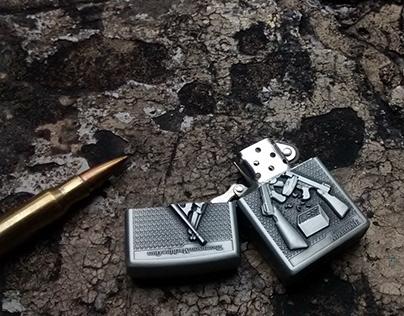 Knife & Lighter - Fotografía