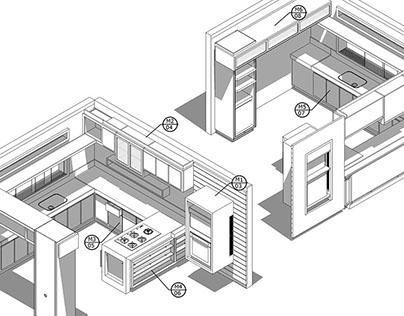Detalhamento de mobiliário/ furniture detailing