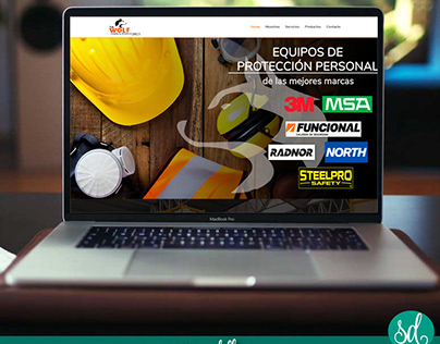 Diseño Web para The Wolf Company Inc Oil Service.