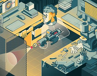 Webzine 'HORIZON' 21.APR Cover art