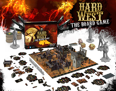 Hard West - The Board Game