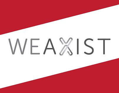 WEAXIST . brand