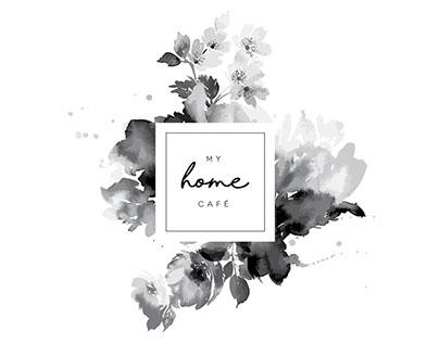My Home Cafè brand identity