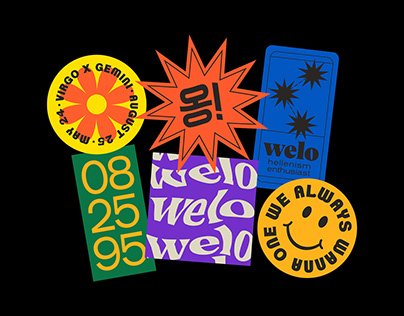 WELO Stickers