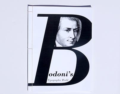 Bodoni's Typographic World