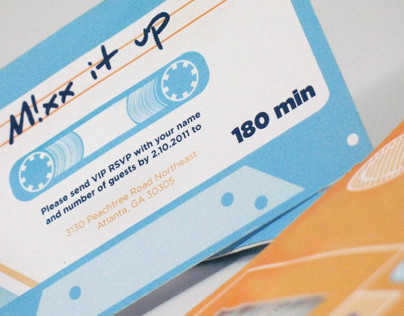 MIXX It UP- Concert Invitation