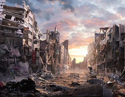Personal and Feature Film Matte Paintings