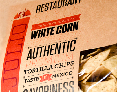Tortilla Chip packaging