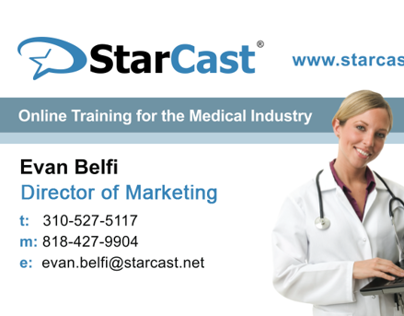 StarCast Marketing Collateral