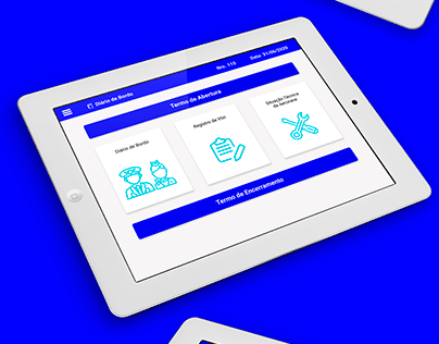 UI Design e Logotipo Safety Track