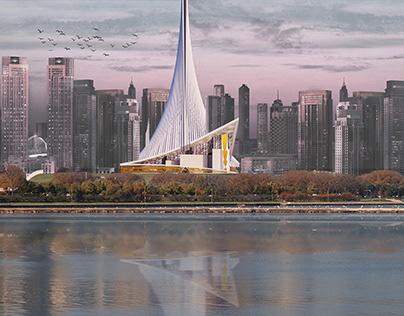 Crescent – The Iconic Mosque in Dubai, UAE