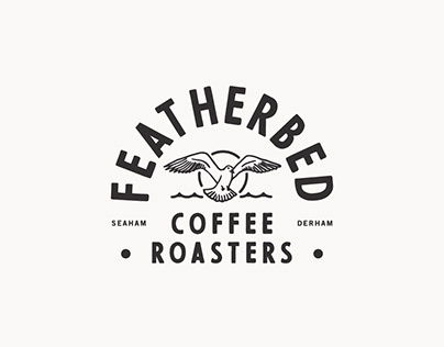 Coffee Roastery Name and logo design