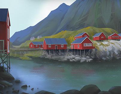Lofoten landscapes
