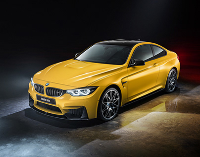 BMW M4 and S1000R Studio photography