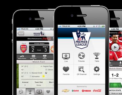 Premier League iPhone App