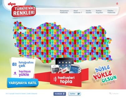 Dyo Türkiye'nin Renkleri