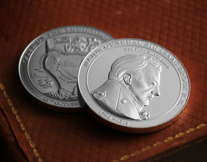 Sir Isaac Brock Commemorative Silver Round