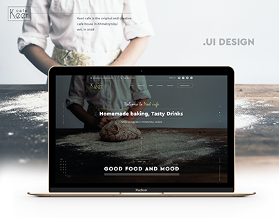 Keet cafe. UI Design