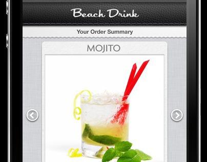 Beach Drink iPhone App
