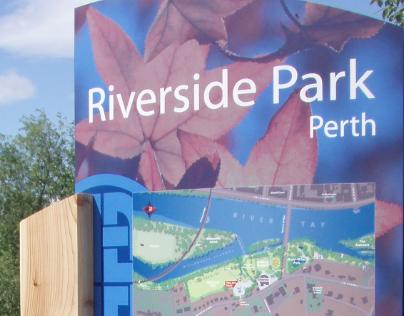 Perth Parks wayfinding