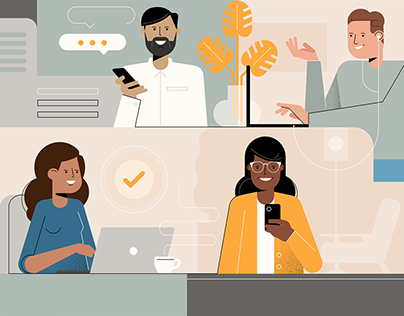 Client work | Assorted illustration