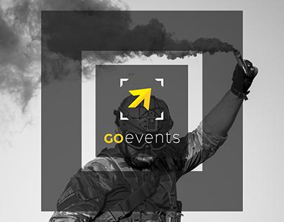 GO Events - rebranding & website