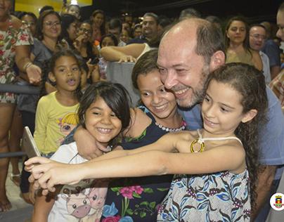 in da Praça do Empreendedor Manoel Ribeiro Parente