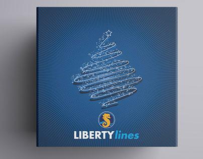 Liberty Lines Xmas packaging