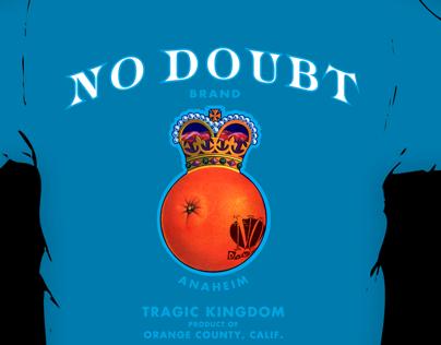 NO DOUBT : Tragic Kingdom Tour Shirt