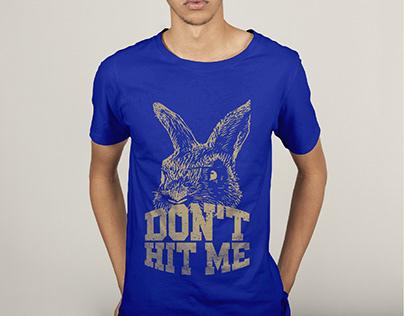 Rabbit T-shirt design
