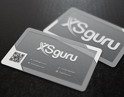 Business Card design XsGuru